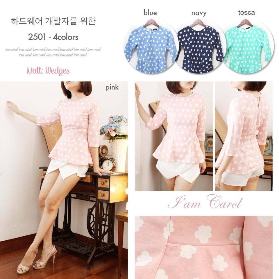 jual baju atasan wanita cantik murah branded berkualitas im carot - 2501 ... 37368f6134